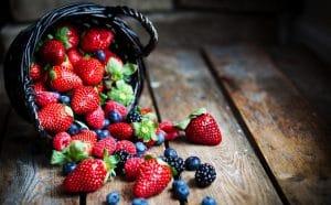El poder antioxidante de los frutos del bosque