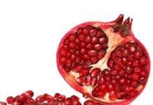 of pomegranate juice