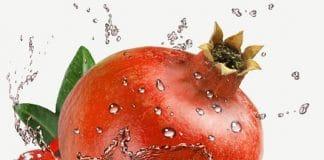 La fruta de la granada